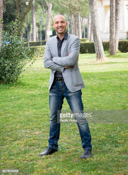 Max Nardari attends the photocall of 'La mia famiglia a soqquadro'