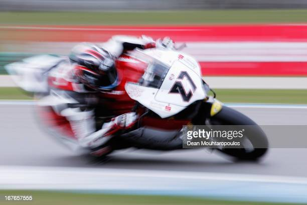 Max Neukirchner of Germany on the Ducati 1199 Panigale R for MRRacing competes during the World Superbikes Qualifying Session at TT Circuit Assen on...