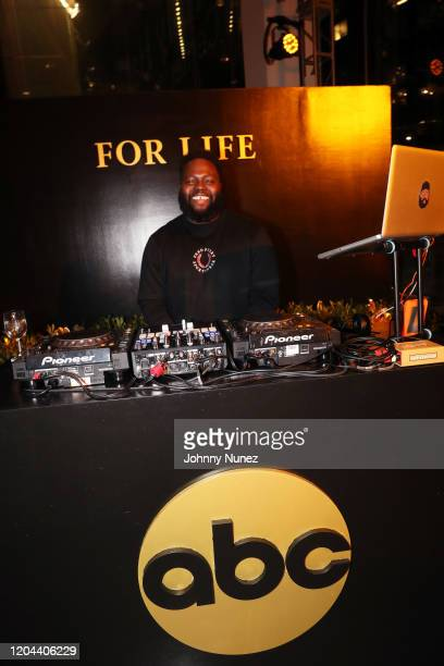 Max October spins at ABC's For Life New York Premiere at Alice Tully Hall Lincoln Center on February 05 2020 in New York City