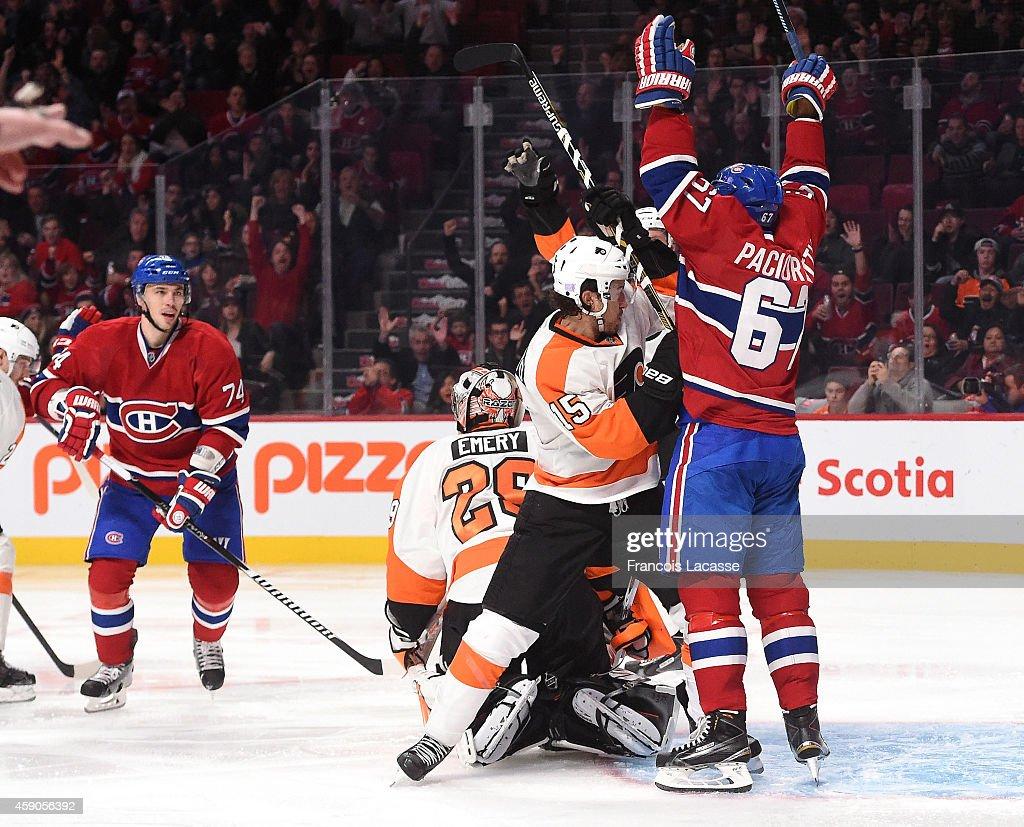 Philadelphia Flyers v Montreal Canadiens