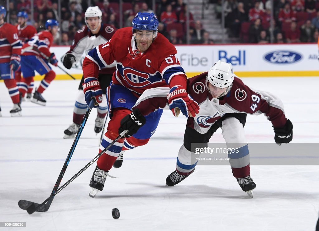 Colorado Avalanche v Montreal Canadiens