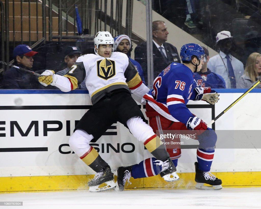 Vegas Golden Knights v New York Rangers : News Photo