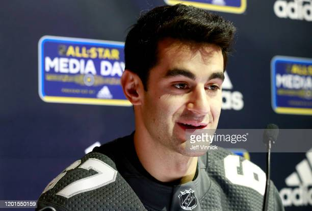 Max Pacioretty of the Vegas Golden Knights speaks during the 2020 NHL AllStar media day at the Stifel Theater on January 23 2020 in St Louis Missouri