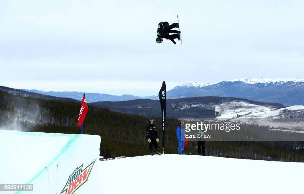 Max Parrot of Canada competes in the men's snowboard Slopestyle Final during Day 4 of the Dew Tour on December 16 2017 in Breckenridge Colorado