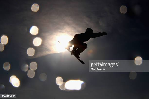 Max Parrot of Canada in action during the Mens Big Air Final at Alpensia Ski Jumping Centre on February 24 2018 in Pyeongchanggun South Korea