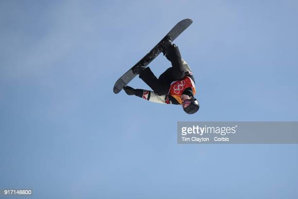 Max Parrot of Canada in action while winning the silver medal during the Men's Slopestyle Snowboard competition at Phoenix Snow Park on February11...