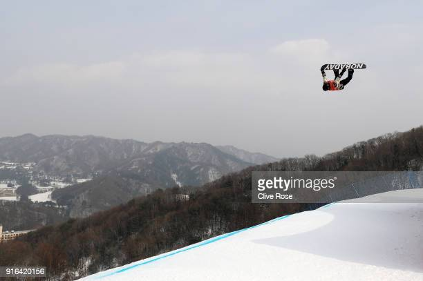 Max Parrot of Canada of the United States competes during the Men's Slopestyle qualification on day one of the PyeongChang 2018 Winter Olympic Games...