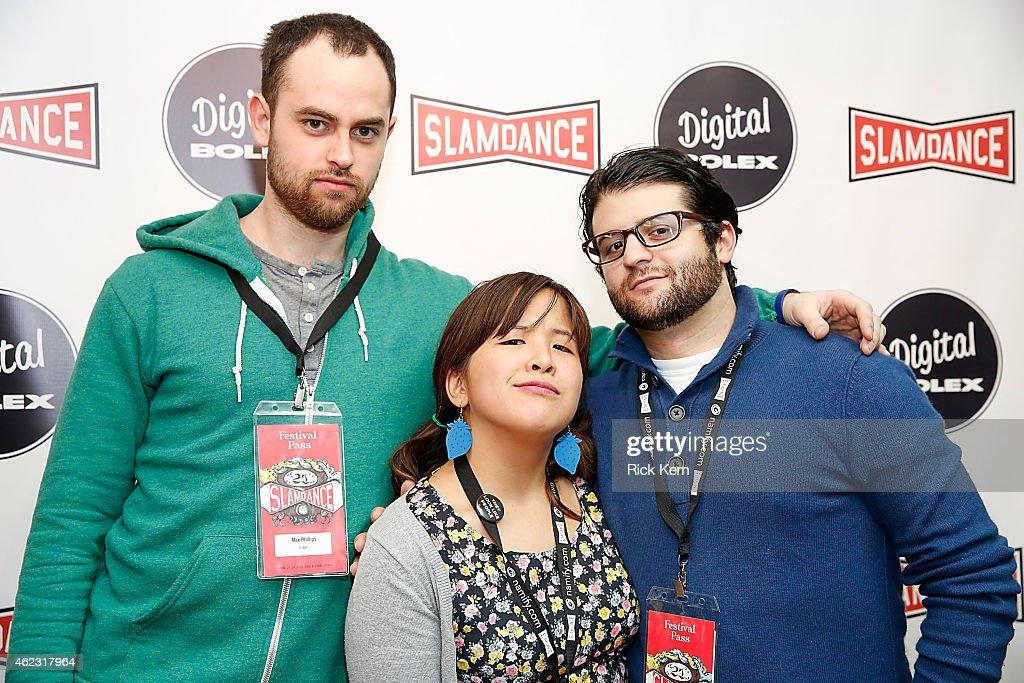 Digital Bolex Fearless Filmmaking Showcase Red Carpet At The 2015 Slamdance Film Festival : News Photo