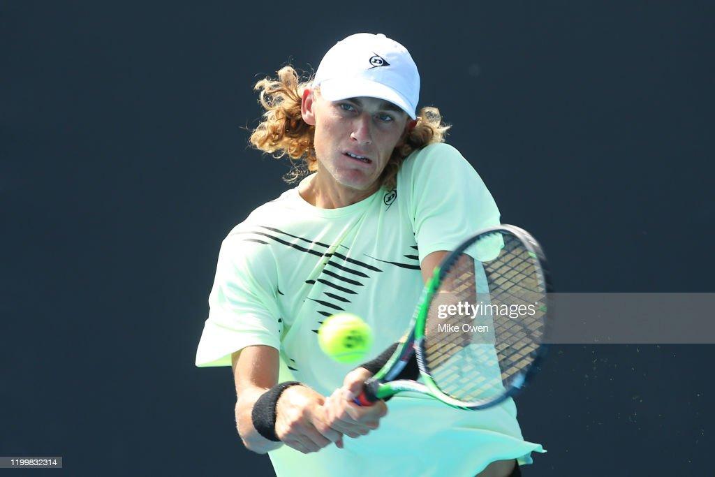 2020 Australian Open Qualifying : Nachrichtenfoto