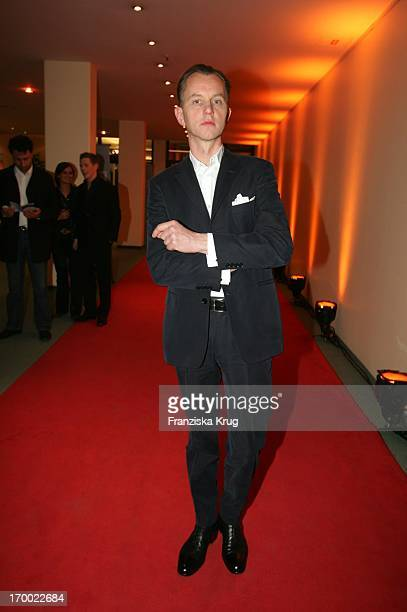 Max Raabe After The 14th Ceremony Of Music Prize The German Phonographic Academy echo In Estrel Convention Center in Berlin