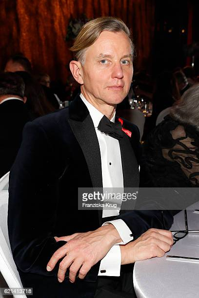 Max Raabe attends the aftershow party during the 23rd Opera Gala at Deutsche Oper Berlin on November 5 2016 in Berlin Germany