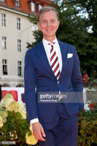 Max Raabe attends the BILD100 event at Axel Springer Haus on September 4 2017 in Berlin Germany