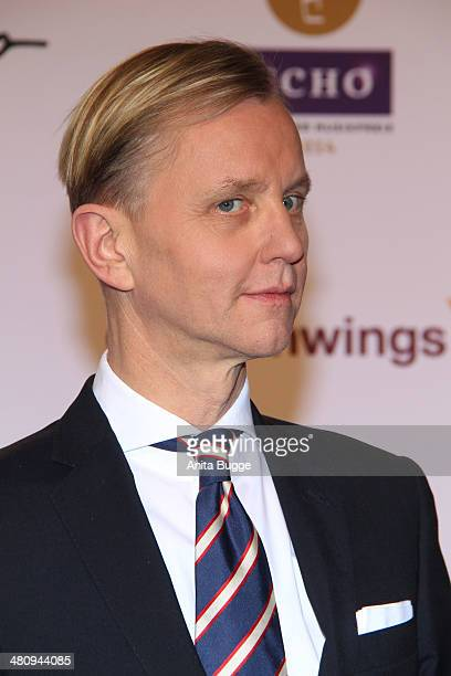 Max Raabe attends the 'Echo Award 2014' on March 27 2014 in Berlin Germany