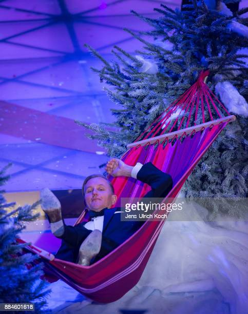 Max Raabe performs at 'Das Adventsfest der 100000 Lichter' TV show on December 02 2017 in Suhl Germany
