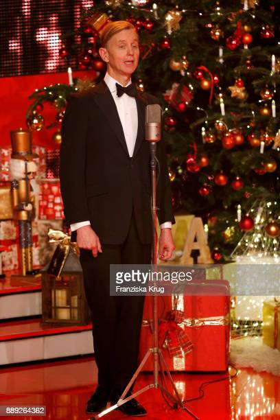 Max Raabe performs at the Ein Herz Fuer Kinder Gala show at Studio Berlin Adlershof on December 9 2017 in Berlin Germany