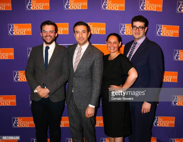 Max Read Ari Melber Shaunna Thomas and David Burstein Attend The 2017 Common Good Forum at University Club on May 12 2017 in New York City