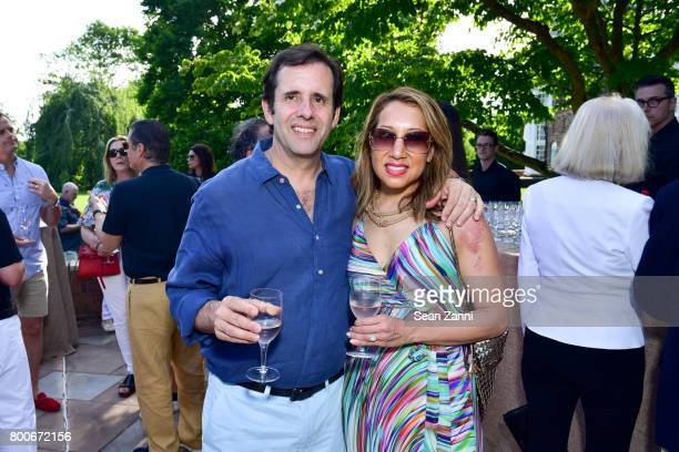 Max Reynal and Kristine Reynal attend Maison Gerard Presents Marino di Teana A Lifetime of Passion and Expression at Michael Bruno and Alexander...