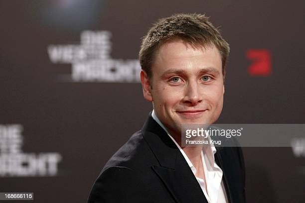Max Riemelt at The Premiere Of The Fourth Branch at the Cinestar Sony Center in Berlin