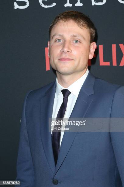 Max Riemelt attend the Season 2 Premiere of Netflix's 'Sense8' at AMC Lincoln Square Theater on April 26 2017 in New York City