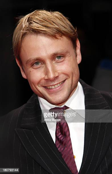 Max Riemelt attends the 'First Steps Award 2013' at Stage Theater on September 16 2013 in Berlin Germany