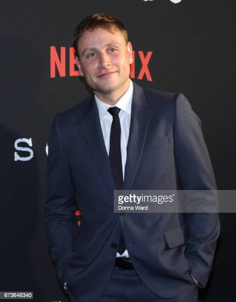 Max Riemelt attends the Sense8 New York Premiere at AMC Lincoln Square Theater on April 26 2017 in New York City