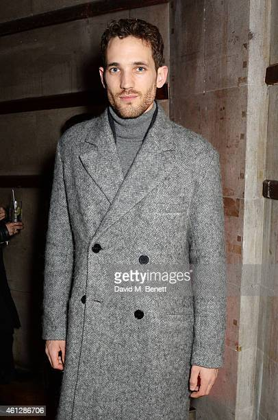 Max Rogers attends as Harvey Nichols and Dazed present the Haculla x Trapstar presentation during London Collections Men AW15 at Central Saint...