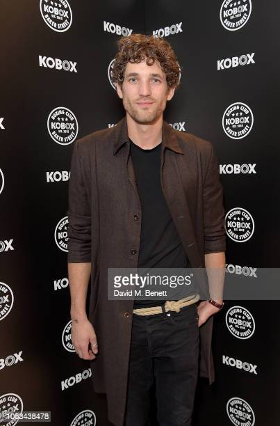 Max Rogers attends the KOBOX Baker Street studio launch on October 25 2018 in London England