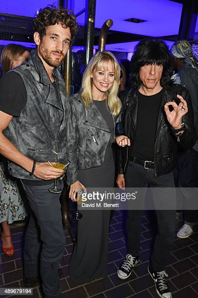 Max Rogers Kimberly Wyatt and Marky Ramone attend the launch of the Cool Earth Goes Global initiative hosted by Dame Vivienne Westwood and Andreas...