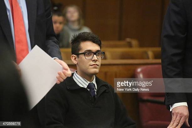 Max Rosenblum appears in Manhattan Supreme Court Rosenblum was arrested with three others after the death of actor Philip Seymour Hoffman