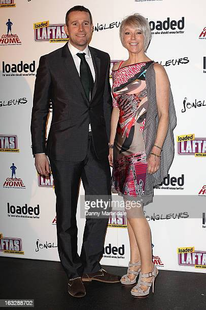 Max Rushden and Helen Chamberlain attend the Loaded LAFTA's at Sway on March 7 2013 in London England