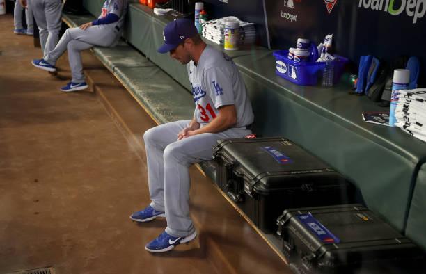 GA: Championship Series - Los Angeles Dodgers v Atlanta Braves - Game Two