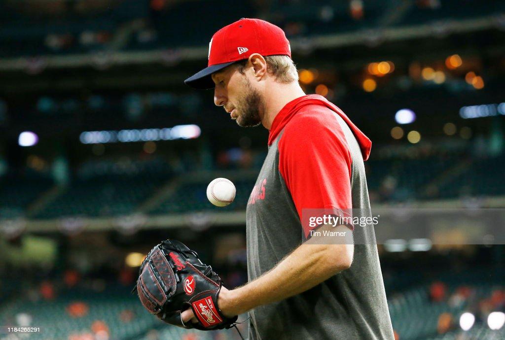 World Series - Washington Nationals v Houston Astros - Game Six : News Photo