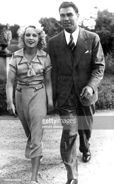 Max Schmeling and actress Anny Ondra pictured shortly before their marriage in 1933 The German box legend and world champion celebrates his 95th...