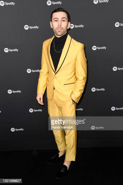 Max Schneider attends Spotify Hosts Best New Artist Party at The Lot Studios on January 23 2020 in Los Angeles California