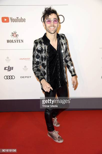 Max Schneider attends the Channel Aid Concert at Elbphilharmonie on January 5 2018 in Hamburg Germany