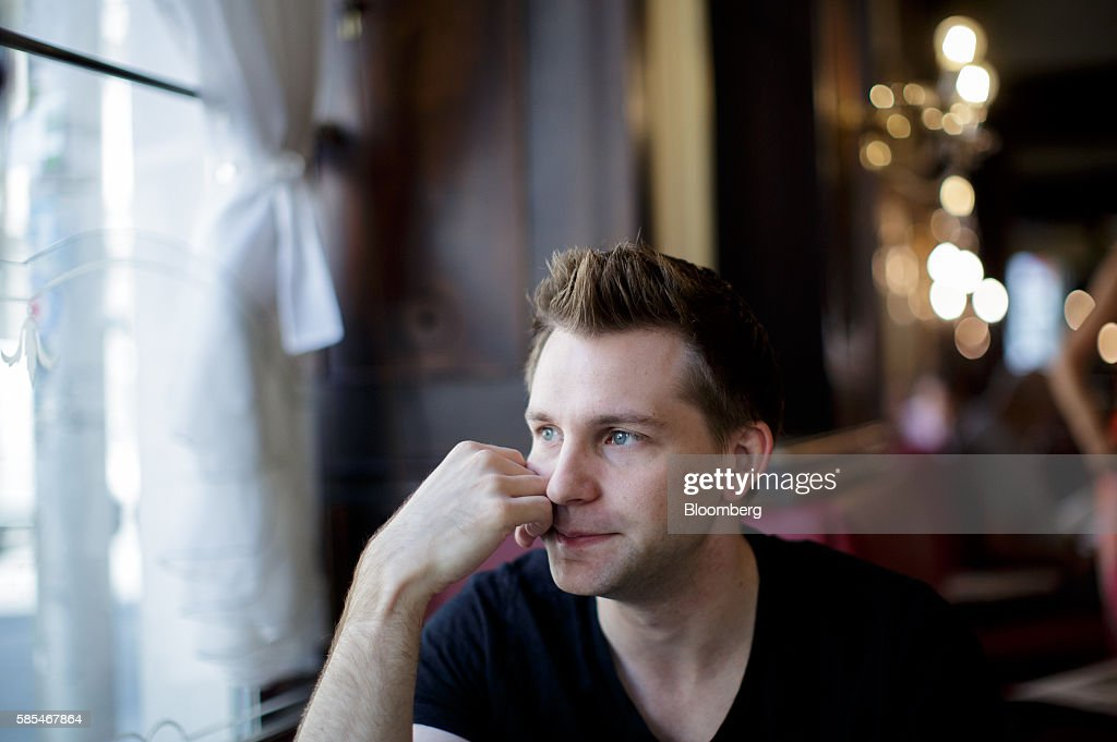 Max Schrems, Austrian law student and data-privacy activist, pauses during an interview in Vienna, Austria, on Tuesday, July 19, 2016. In 2013, when revelations about mass access to people's data by U.S. secret services broke, Schrems filed a new complaint against Facebook over its transfer of data to the U.S., where it wasn't adequately protected. Photographer: Lisi Niesner/Bloomberg via Getty Images