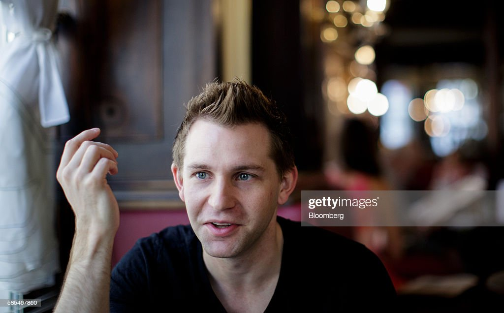 Data-Privacy Campaigner Max Schrems Interview : News Photo