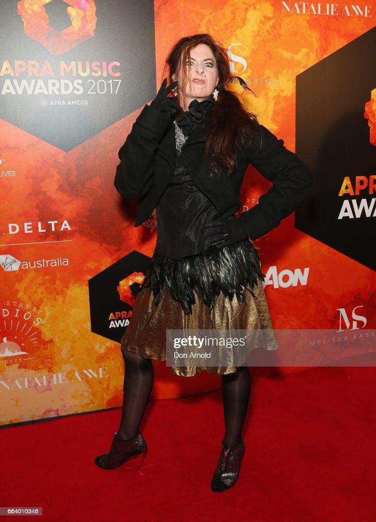 Max Sharam arrives ahead of the 2017 APRA Music Awards on April 3, 2017 in Sydney, Australia.