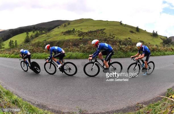 Max Stedman of Great Britain / Dexter Gardias of Great Britain / Rory Townsend of Great Britain / Ryan Christensen of New Zealand and Team...