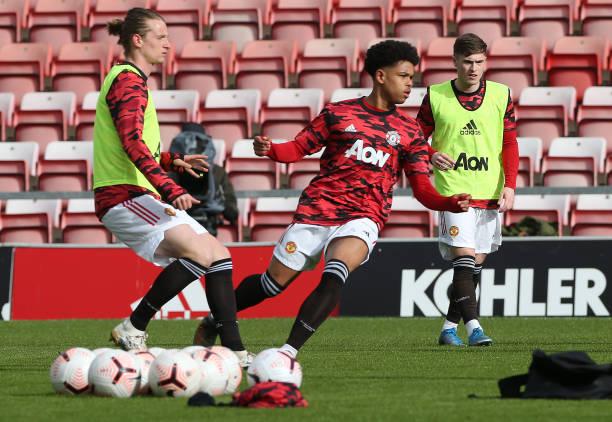 GBR: Manchester United v Brighton & Hove Albion: Premier League 2