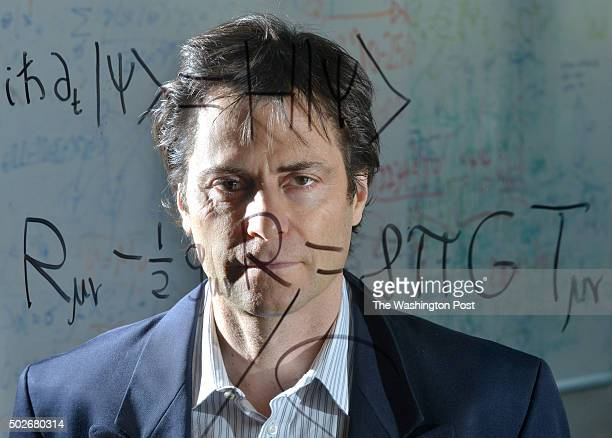 Max Tegmark a Physics professor at MIT stands behind the Schrödinger equation for quantum mechanics and Einstein's general theory of relativity at...