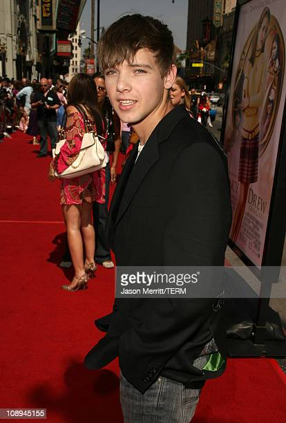 Max Thieriot during Nancy Drew Los Angeles Premiere Red Carpet at Grauman's Chinese Theater in Hollywood California United States