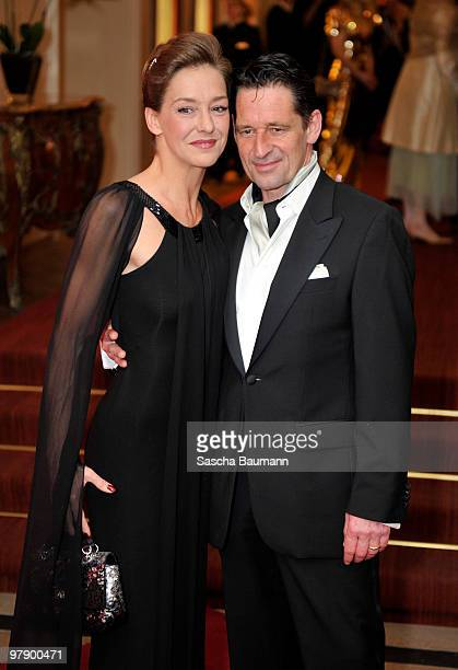 Max Tidof an Lisa Seitz attend the Gala Spa Award at Brenner's Park Hotel on March 20 2010 in Baden Baden Germany