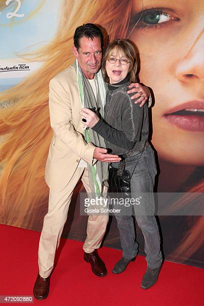 Max Tidof and Cornelia Froboess during the German premiere of the film 'Ostwind 2' on May 3 2015 in Munich Germany