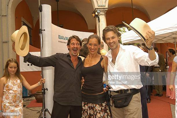 Max Tidof Ehefrau Lisa Seitz Timothy Peach Empfang der Bavaria Film Filmfest München PNr 906/2005 Party roter Teppich Schauspieler Promi BB Foto P...