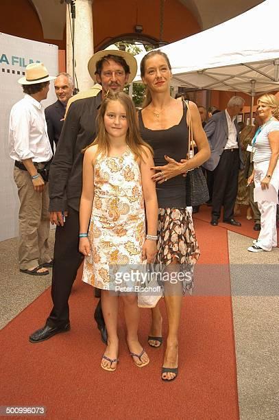 Max Tidof Tochter Luzie Ehefrau Lisa Seitz Empfang der Bavaria Film Filmfest München PNr 906/2005 Party roter Teppich Familie Schauspieler Promi BB...