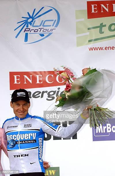 Max Van Heeswijk winner of stage 6 of the 2005 Eneco tour between Verviers and Hasselt