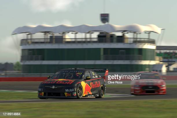 Max Verstappen driving the Aston Martin Red Bull Racing Holden Commodore ZB in Qualifying for Race 4 during round 2 of the Supercars All Stars...