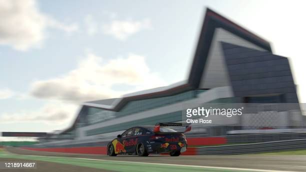 Max Verstappen driving the Aston Martin Red Bull Racing Holden Commodore ZB in Qualifying for Race 1 during round 2 of the Supercars All Stars...