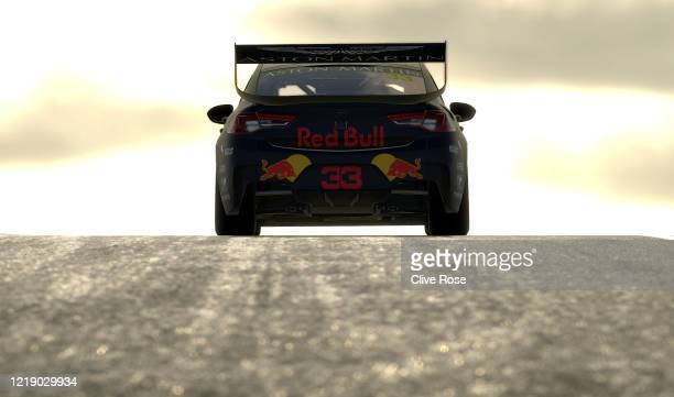 Max Verstappen driving the Aston Martin Red Bull Racing Holden Commodore ZB in action during round 2 of the Supercars All Stars Eseries at...